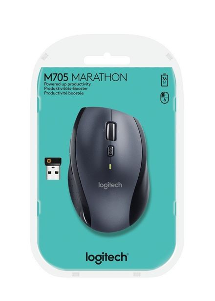 Cheapest price of Logitech M705 Wireless Mouse in new is £37.00