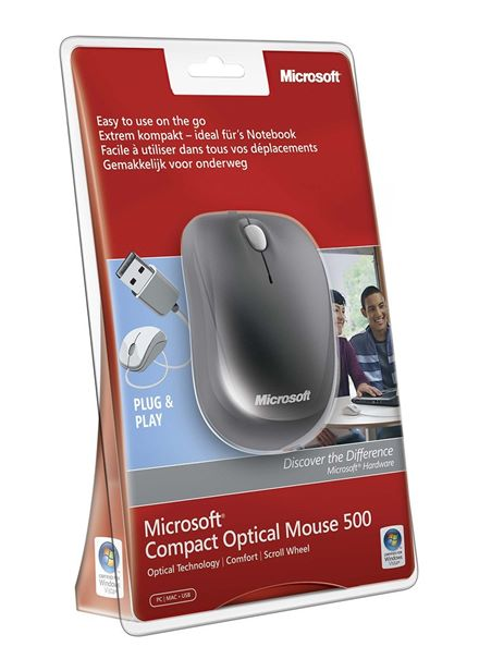 Compare cheap offers & prices of Microsoft Compact Wired Optical Mouse for Business manufactured by Microsoft