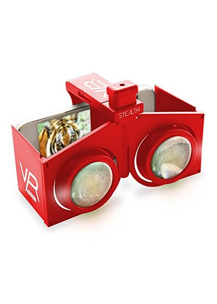 Compare prices for Portable VR Viewer- Red VR