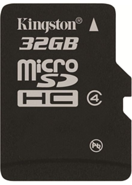 Compare cheap offers & prices of Kingston - Flash memory card - 32 GB - Class 4 - microSDHC manufactured by Kingston