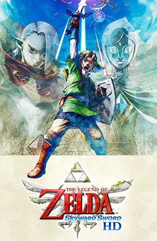The Legend Of Zelda Skyward Sword HD : Video Games