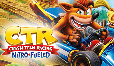 Crash Team Racing Nitro-Fueled : Video Game