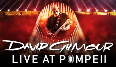 David Gilmore - Live At Pompeii Double CD