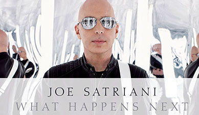 Joe Satriani - What Happens Next : Music CD