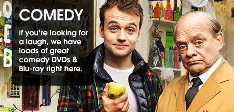 Comedy on DVD and Blu-ray