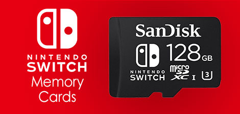 Nintendo Switch Memory Cards