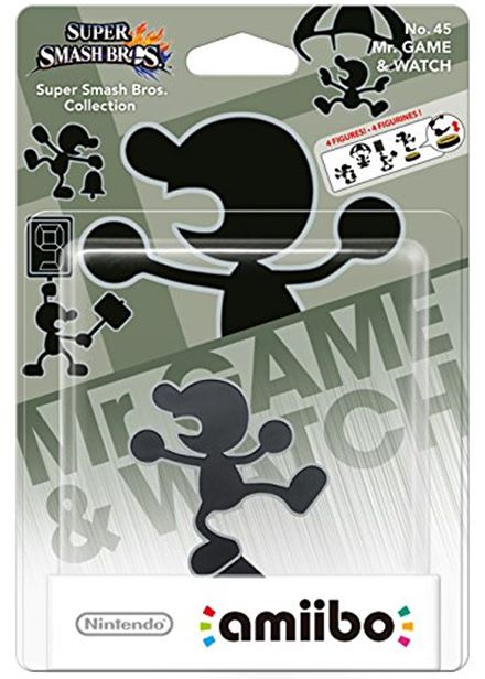 Compare prices for Nintendo Amiibo Smash Bros Collection Character - Mr. Game and Watch Wii U / Nintendo 3DS
