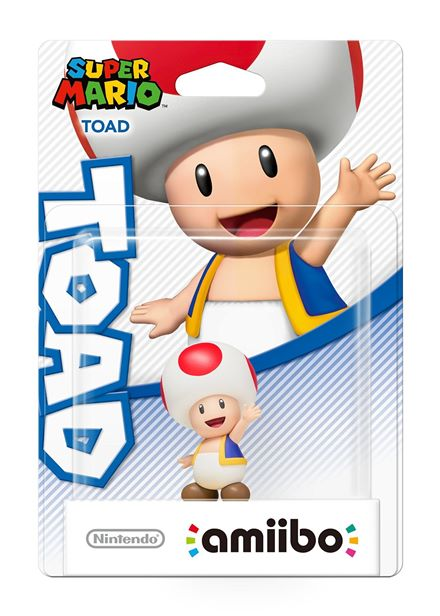 Compare cheap offers & prices of Nintendo Amiibo Super Mario Collection Character - Toad Wii U / Nintendo 3DS manufactured by Amiibo