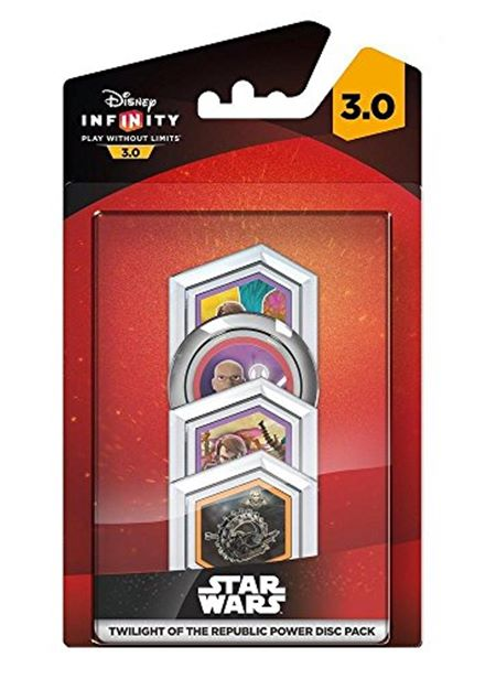 Compare cheap offers & prices of Disney Infinity 3.0 Star Wars Twilight of the Republic Power Disc Pack PS4/PS3/Xbox One/Xbox 360 manufactured by Disney
