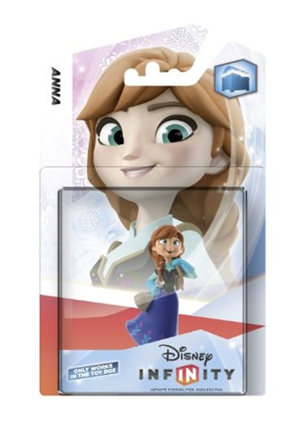 Compare cheap offers & prices of Disney Infinity Character - Anna Xbox 360/PS3/Nintendo Wii/Wii U/3DS manufactured by Disney