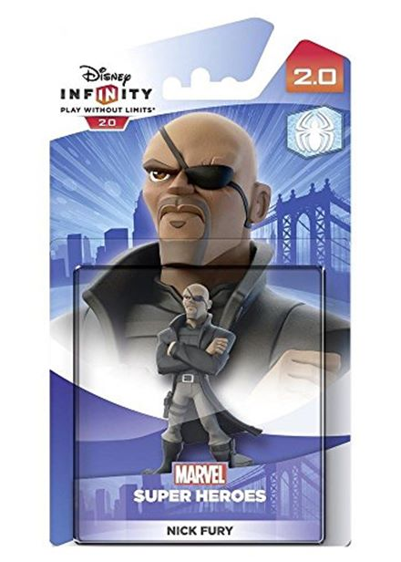 Compare cheap offers & prices of Disney Infinity 2.0 Marvel Super Heroes Character - Nick Fury Figure PS4/PS3/Nintendo Wii U/Xbox 360/Xbox One manufactured by Disney