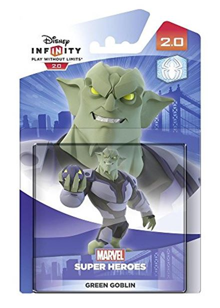 Cheapest price of Disney Infinity 2.0 Character - Green Goblin Figure Xbox One/PS4/PS3/Nintendo Wii U/Xbox 360 in used is £9.49