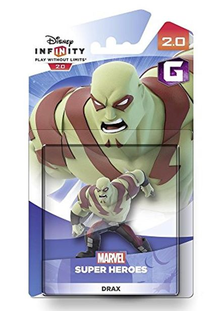 Compare cheap offers & prices of Disney Infinity 2.0 Guardians of the Galaxy Character - Drax Figure PS4/PS3/Nintendo Wii U/Xbox 360/Xbox One manufactured by Disney