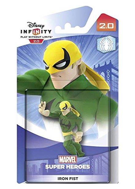 Compare cheap offers & prices of Disney Infinity 2.0 Marvel Super Heroes Character - Iron Fist Figure PS4/PS3/Nintendo Wii U/Xbox 360/Xbox One manufactured by Disney