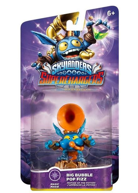 Compare cheap offers & prices of Skylanders SuperChargers Character - Big Bubble Pop Fizz manufactured by Skylanders