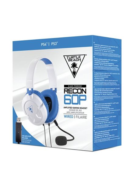 Compare prices for Turtle Beach Recon 60P Amplified Stereo Gaming Headset- White PS4 PS4 Pro Xbox One Xbox One