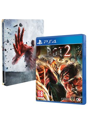 Image result for Attack on Titan 2 Steelbook (PS4)