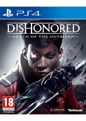 Dishonored 2 Death Of The Outsider Ps4