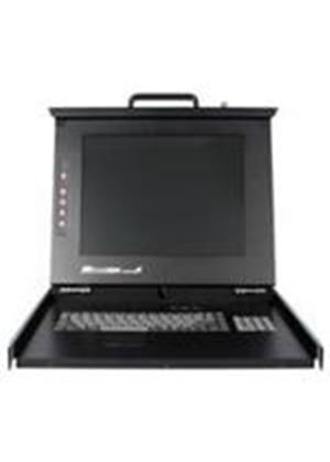 "StarTech 1U 17 in. Folding Rackmount LCD Console - KVM console - USB + PS/2 - rack-mountable - TFT - 17"" - 1280 x 1024 - 450:1 - 16 ms - 0.264 mm - 1U"