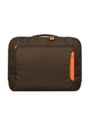 "Belkin 15.6"" Notebook Messenger Bag (Chocolate/Burnt Orange)"