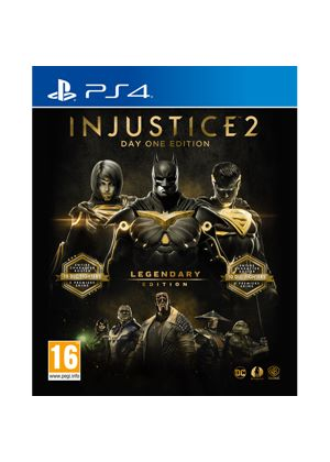 Injustice 2 Legendary Edition Day One Edition Ps4
