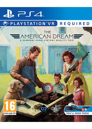 Compare Sony Computer Entertainment new The American Dream PSVR PS4 Game in UK