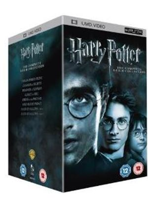 Harry potter the complete 8 film collection box set umd for Sejour complet harry potter