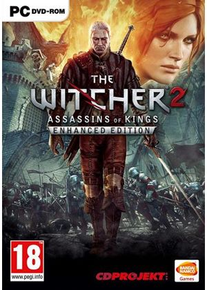 Image result for The Witcher 2: Assassins of Kings Enhanced Edition pc dvd