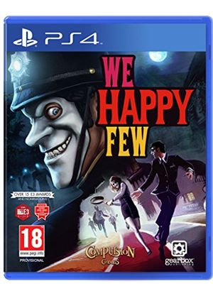 Cheapest price of We Happy Few PS4 Game in new is £25.99