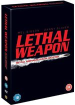 Click to view product details and reviews for Lethal weapon the complete collection 4 disc box set.