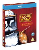 Star Wars The Clone Wars  The Complete Season One (Bluray)