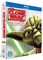 Star Wars The Clone Wars  The Complete Season Two (BluRay)