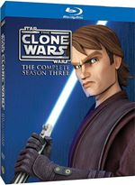 Star Wars The Clone Wars  The Complete Season Three (BluRay)