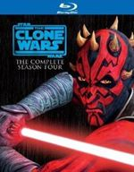 Star Wars The Clone Wars  The Complete Season Four (BluRay)