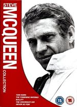 Steve McQueen Collection  Tom Horn  The Towering Inferno  Bullitt  The Cincinnati Kid  Never So Few