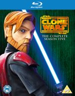 Star Wars The Clone Wars  The Complete Season Five (BluRay)