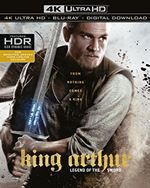 King Arthur: Legend of the Sword [4K UHD + Digital Download] [Blu-ray] [2017] (Blu-ray)