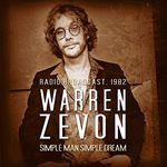 Warren Zevon - Simple Man Simple Dream cover