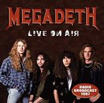 Megadeth - Live On Air 1987 cover