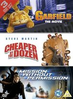 Garfield / Cheaper By The Dozen / Mission Without Permission (3 Discs) 3035901000