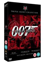 James Bond Ultimate Red Triple Pack  Dr. No  Live And Let Die  Die Another Day  (Three Discs) (Box Set)