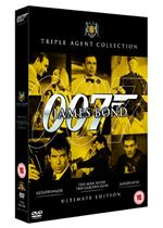 James Bond Ultimate Golden Triple Pack  Goldfinger  The Man With The Golden Gun  Goldeneye (Three Discs) (Box Set)