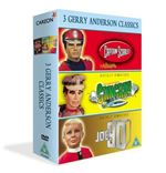 3 Jerry Anderson Classics - Supermarionation - Joe 90 / Captain Scarlet / Stingray (Three Discs)