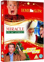 Family Christmas Triple (Home Alone Jingle All The Way Miracle on 34th Street)