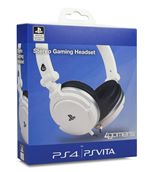 Image of 4Gamers Officially Licensed Stereo Gaming Headset - White (PS4/PSVita)