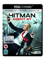 Hitman Agent 47 4K Ultra HD Bluray  Digital Copy