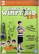 Diary of a Wimpy Kid 1-3 5636001000