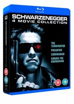 Arnold Schwarzenegger Collection   Conan The Barbarian  Commando  Predator Ultimate Edition  Terminator Bluray