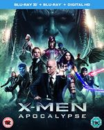XMen Apocalypse Bluray 3D