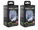 Image of Integral Auto Sensor, Dusk to Dawn, LED Night Light, Plug In, Pack of 2